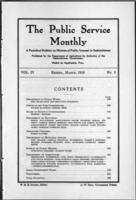 The Public Service Monthly March 1916