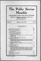 The Public Service Monthly April 1916