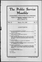 The Public Service Monthly May 1916
