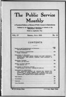 The Public Service Monthly July 1916