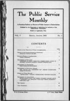 The Public Service Monthly August 1916