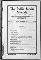 The Public Service Monthly September 1916