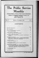 The Public Service Monthly November 1916