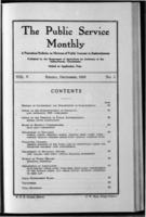 The Public Service Monthly December 1916