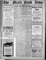 Maple Creek News January 13, 1916