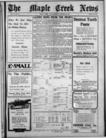 Maple Creek News January 20, 1916