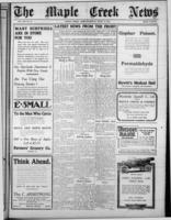 Maple Creek News April 13, 1916