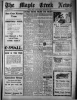 Maple Creek News December 14 , 1916