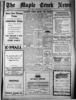 Maple Creek News December 21 , 1916