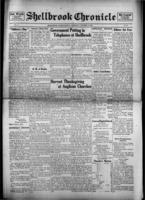 Shellbrook Chronicle October 14, 1916