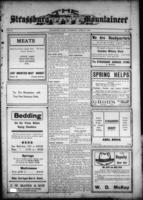 Strassburg Mountaineer April 27, 1916