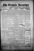 Tisdale Recorder August 25, 1916