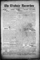 Tisdale Recorder December 1, 1916