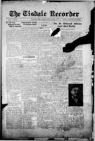 Tisdale Recorder December 8 , 1916