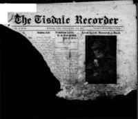 Tisdale Recorder December 15 , 1916