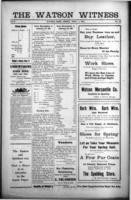 The Watson Witness April 7, 1916