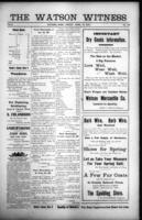 The Watson Witness April 14, 1916