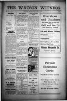The Watson Witness December 1, 1916