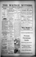 The Watson Witness December 8 , 1916