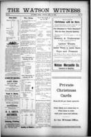 The Watson Witness December 15 , 1916
