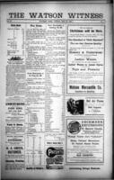The Watson Witness December 22 , 1916